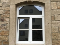 Aus eigener Herstellung – Bautiefe 76mm – EURO Falz – Siegenia Sicherheits Beschläge – Wärmeschutzverglasung – Endlackiert weiß RAL 9016