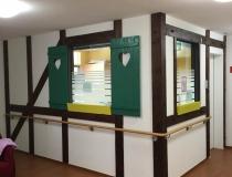 Wandverkleidung, Fachwerkwand, und Dekowände – mit Wand-Holz-Handläufe